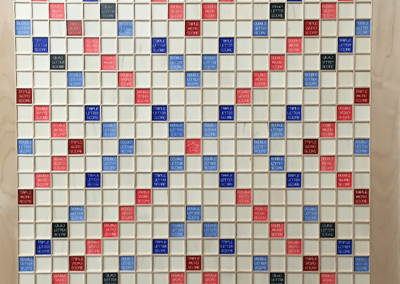 XLarge, maple Super Scrabble with magnets in tiles